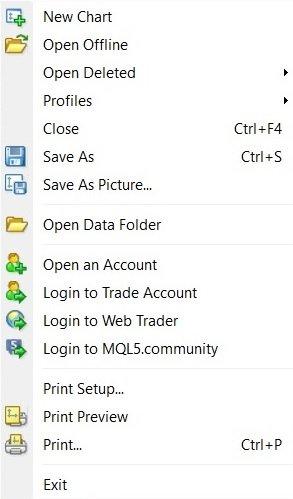 File section tutorial metatrader 4